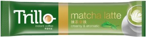 Trillo Matcha Latte-Sticks Front